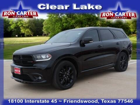 2018 Dodge Durango for sale at Ron Carter  Clear Lake Used Cars in Houston TX
