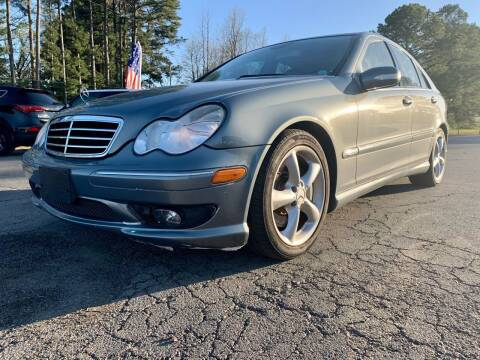 2006 Mercedes-Benz C-Class for sale at Airbase Auto Sales in Cabot AR