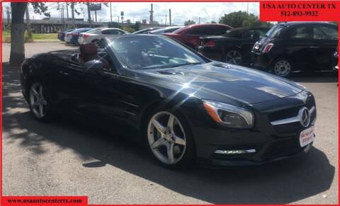 2013 Mercedes-Benz SL-Class for sale at USA AUTO CENTER in Austin TX