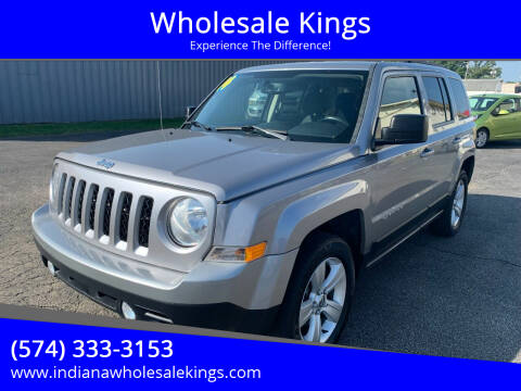 2014 Jeep Patriot for sale at Wholesale Kings in Elkhart IN