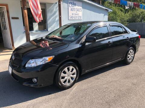 2010 Toyota Corolla for sale at Elite Auto Sales Inc in Front Royal VA