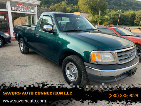 2000 Ford F-150 for sale at SAVORS AUTO CONNECTION LLC in East Liverpool OH
