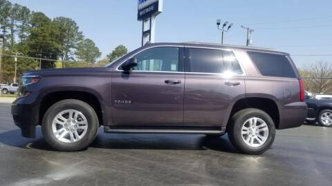 2016 Chevrolet Tahoe for sale at Whitmore Chevrolet in West Point VA