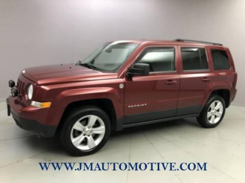 2013 Jeep Patriot for sale at J & M Automotive in Naugatuck CT