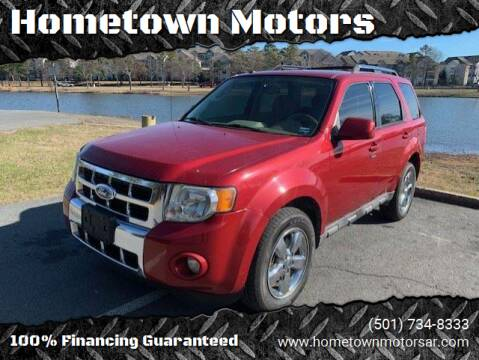 2009 Ford Escape for sale at Hometown Motors in Maumelle AR