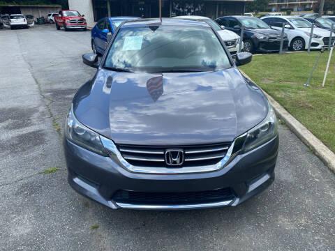 2015 Honda Accord for sale at J Franklin Auto Sales in Macon GA