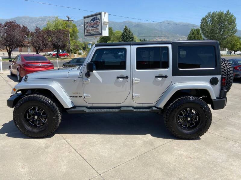 2012 Jeep Wrangler Unlimited for sale at Haacke Motors in Layton UT