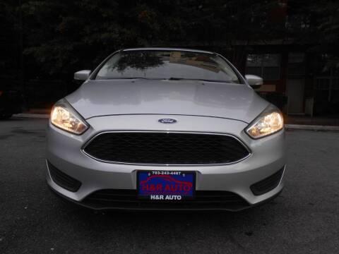 2016 Ford Focus for sale at H & R Auto in Arlington VA