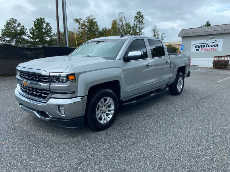 2018 Chevrolet Silverado 1500 for sale at Autoteam of Valdosta in Valdosta GA