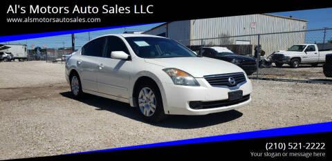2009 Nissan Altima for sale at Al's Motors Auto Sales LLC in San Antonio TX