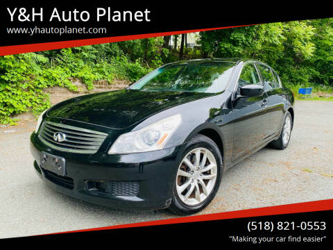 2009 Infiniti G37 Sedan for sale at Y&H Auto Planet in West Sand Lake NY