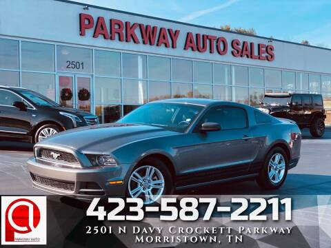 2013 Ford Mustang for sale at Parkway Auto Sales, Inc. in Morristown TN