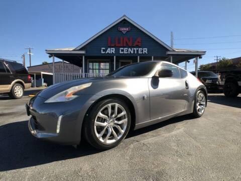 2013 Nissan 370Z for sale at LUNA CAR CENTER in San Antonio TX