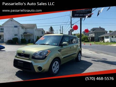 2013 Kia Soul for sale at Passariello's Auto Sales LLC in Old Forge PA