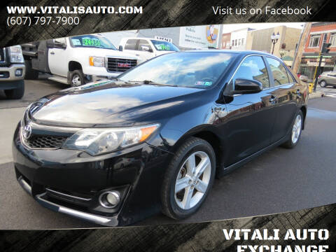2012 Toyota Camry for sale at VITALI AUTO EXCHANGE in Johnson City NY