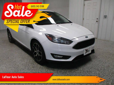 2017 Ford Focus for sale at LaFleur Auto Sales in North Sioux City SD