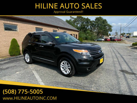 2015 Ford Explorer for sale at HILINE AUTO SALES in Hyannis MA