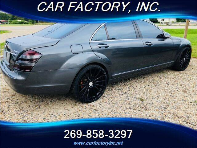 2007 Mercedes-Benz S-Class for sale at Car Factory Inc. in Three Rivers MI