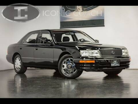 1997 Lexus LS 400 for sale at Iconic Coach in San Diego CA