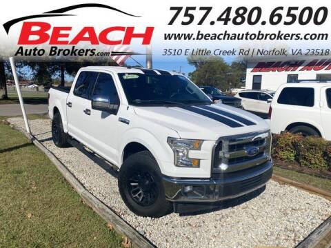 2017 Ford F-150 for sale at Beach Auto Brokers in Norfolk VA