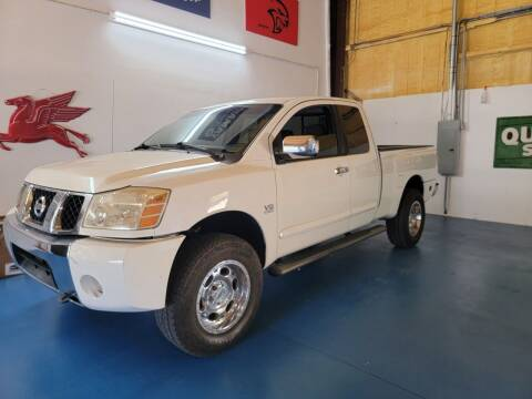 2004 Nissan Titan for sale at Thurston Auto and RV Sales in Clermont FL