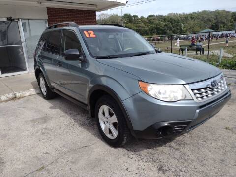 2012 Subaru Forester for sale at VEST AUTO SALES in Kansas City MO