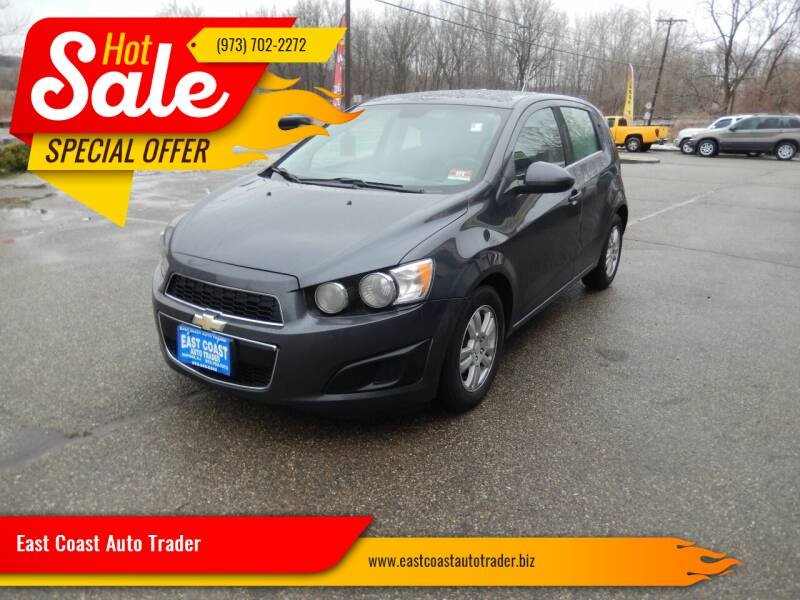 2013 Chevrolet Sonic for sale at East Coast Auto Trader in Wantage NJ