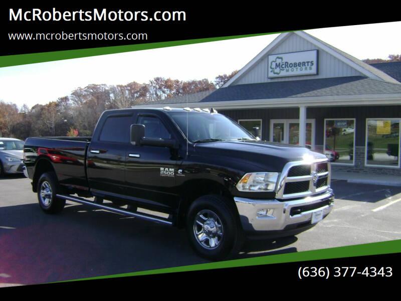 2018 RAM Ram Pickup 2500 for sale at McRobertsMotors.com in Warrenton MO