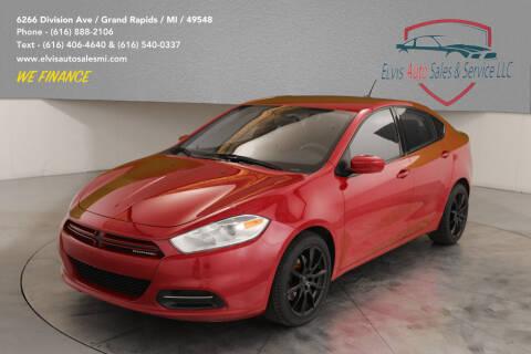 2014 Dodge Dart for sale at Elvis Auto Sales LLC in Grand Rapids MI