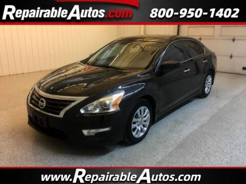 2015 Nissan Altima for sale at Ken's Auto in Strasburg ND