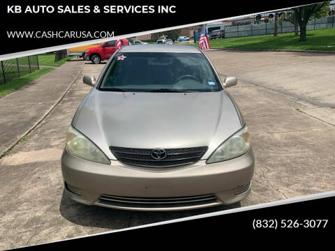2003 Toyota Camry for sale at KB AUTO SALES & SERVICES INC in Houston TX