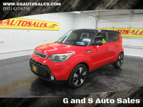 2016 Kia Soul for sale at G and S Auto Sales in Ardmore TN