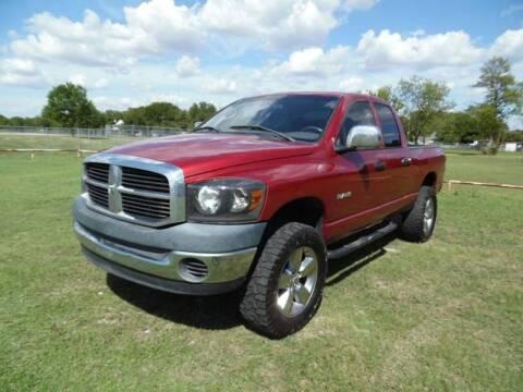 2008 Dodge Ram Pickup 1500 for sale at LA PULGA DE AUTOS in Dallas TX