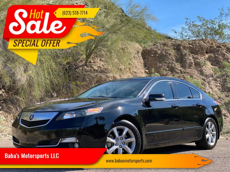 2012 Acura TL for sale at Baba's Motorsports, LLC in Phoenix AZ