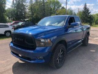 2009 Dodge Ram Pickup 1500 for sale at WB Auto Sales LLC in Barnum MN