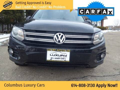 2013 Volkswagen Tiguan for sale at Columbus Luxury Cars in Columbus OH