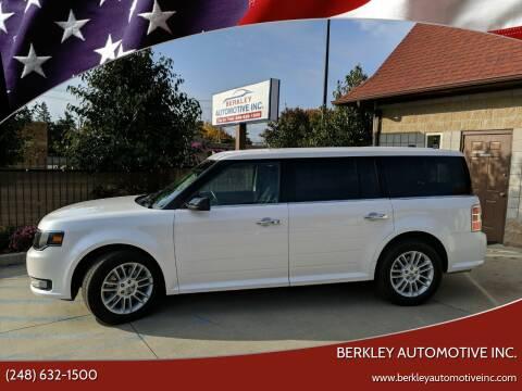 2016 Ford Flex for sale at Berkley Automotive Inc. in Berkley MI