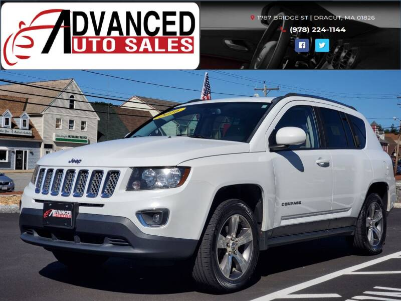 2016 Jeep Compass for sale at Advanced Auto Sales in Dracut MA