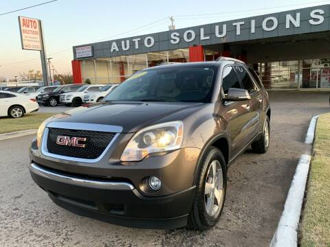2011 GMC Acadia for sale at Auto Solutions in Warr Acres OK