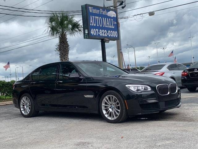 2015 BMW 7 Series for sale at Winter Park Auto Mall in Orlando FL