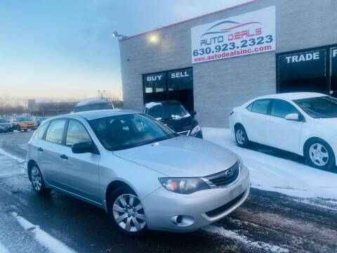 2008 Subaru Impreza for sale at Auto Deals in Roselle IL