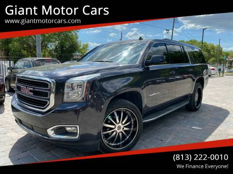 2015 GMC Yukon XL for sale at Giant Motor Cars in Tampa FL