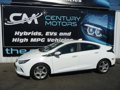 2017 Chevrolet Volt for sale at CENTURY MOTORS - Fresno in Fresno CA