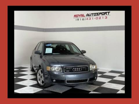 2003 Audi A4 for sale at Royal AutoSport in Sacramento CA