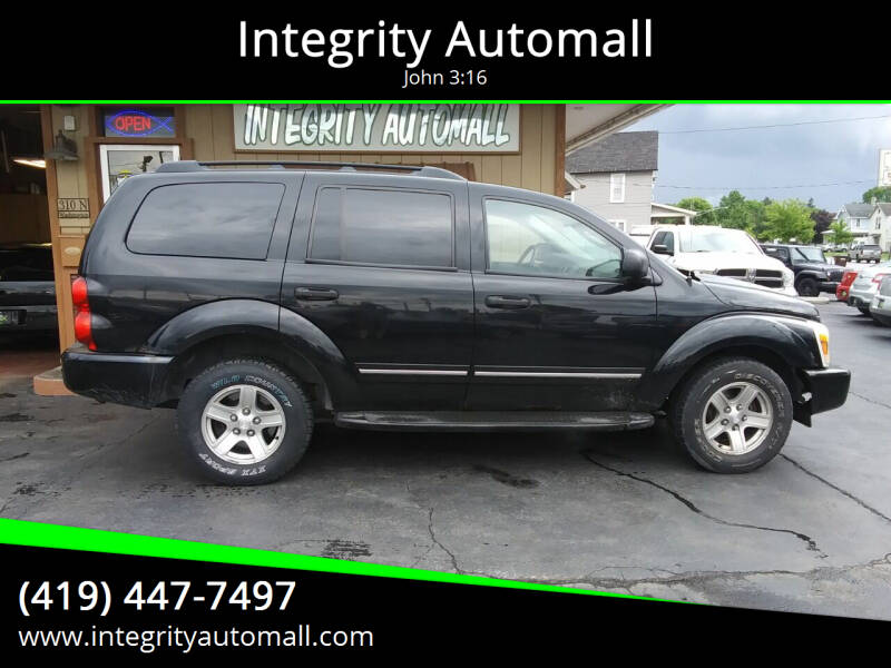 2004 Dodge Durango for sale at Integrity Automall in Tiffin OH