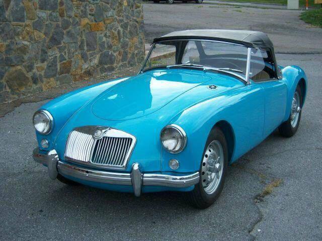 1957 MG MGA for sale at RUMBLES in Bristol TN