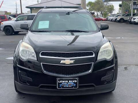 2011 Chevrolet Equinox for sale at Lewis Blvd Auto Sales in Sioux City IA