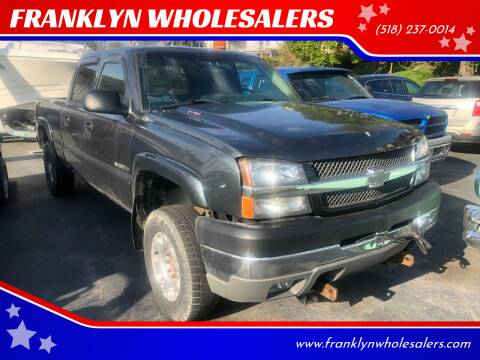 2004 Chevrolet Silverado 2500HD for sale at Franklyn Auto Sales in Cohoes NY
