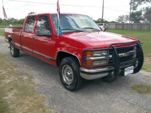 2000 Chevrolet C/K 3500 Series for sale at Hartman's Auto Sales in Victoria TX