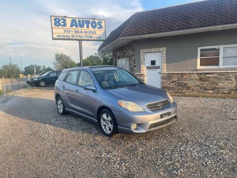 2006 Toyota Matrix for sale at 83 Autos in York PA